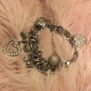 Guess chain bracelet with charms